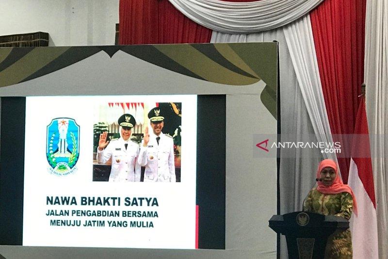 Gubernur Khofifah ajak pers jaga Jatim jelang Pemilu 2019