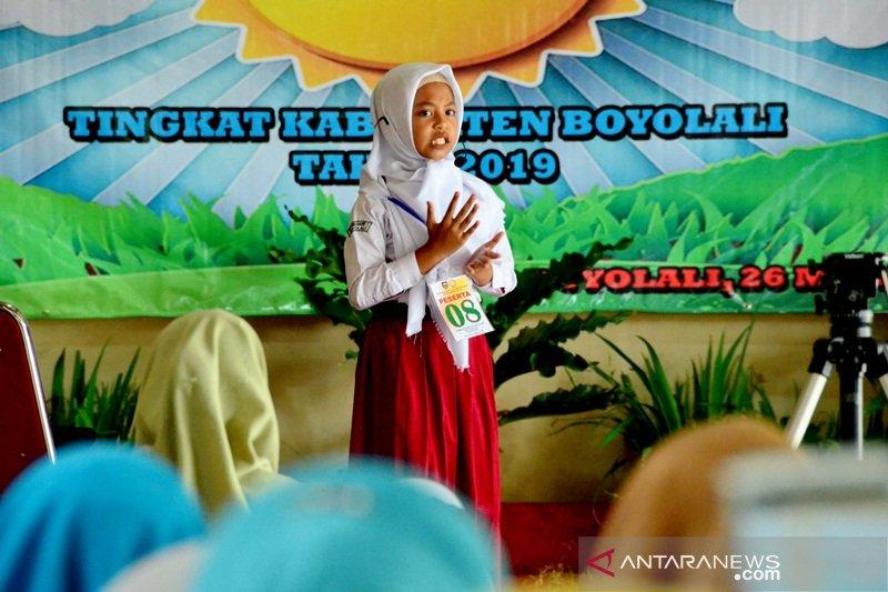 Lomba bercerita gairahkan budaya minat baca siswa