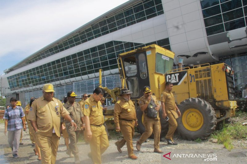 Mimika ajukan anggaran Rp23 miliar bangun parkir Bandara Kilangin