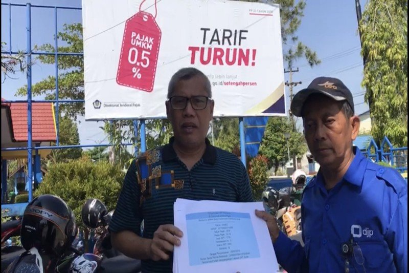 Penyampaian laporan wajib pajak nonkaryawan di Barsel masih rendah