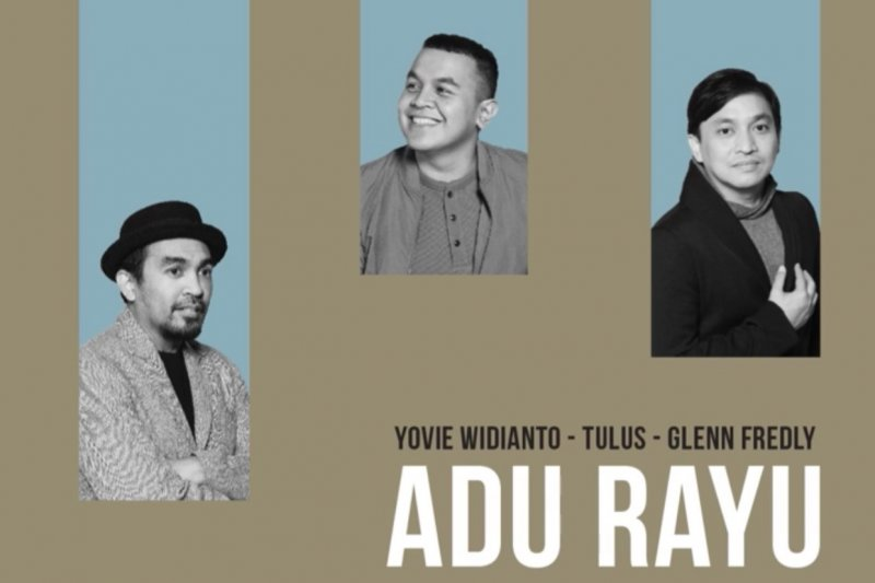 "Glenn Fredly, Tulus & Yovie Widianto kolaborasi ""Adu Rayu"""