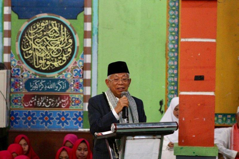 Ma'ruf Amin yakin Jokowi lebih paham soal keamanan dalam debat