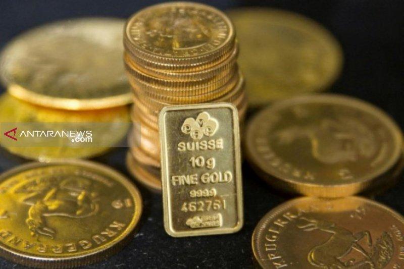 Harga emas naik di atas 1.500 dolar AS jelang pertemuan penting bank sentral