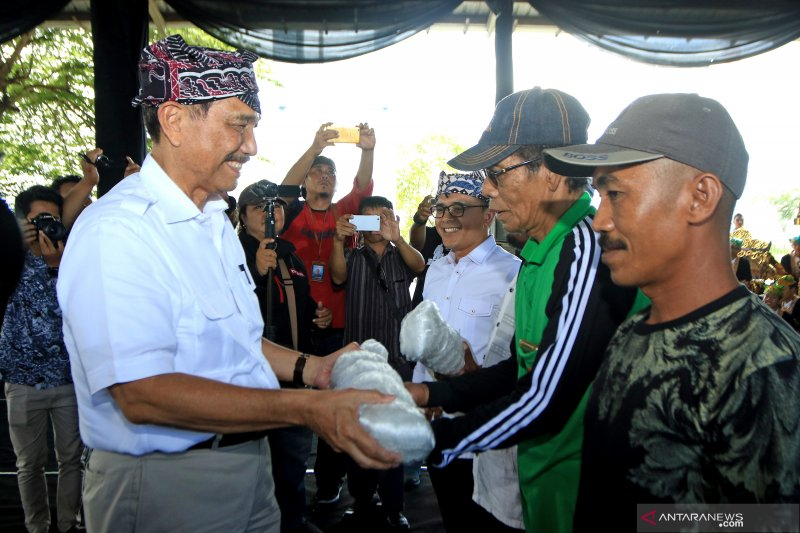 Temu wicara Menko Maritim bersama nelayan