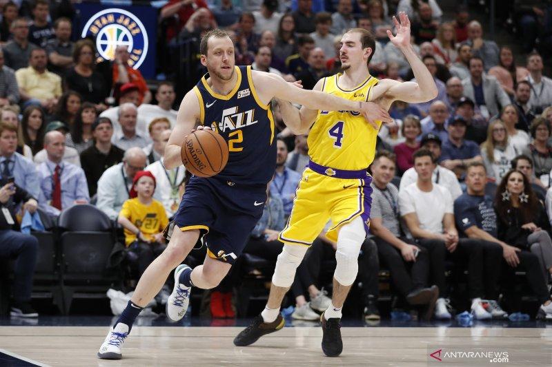 Joe Ingles dan Jordan Clarkson bantu Jazz hempaskan Rockets