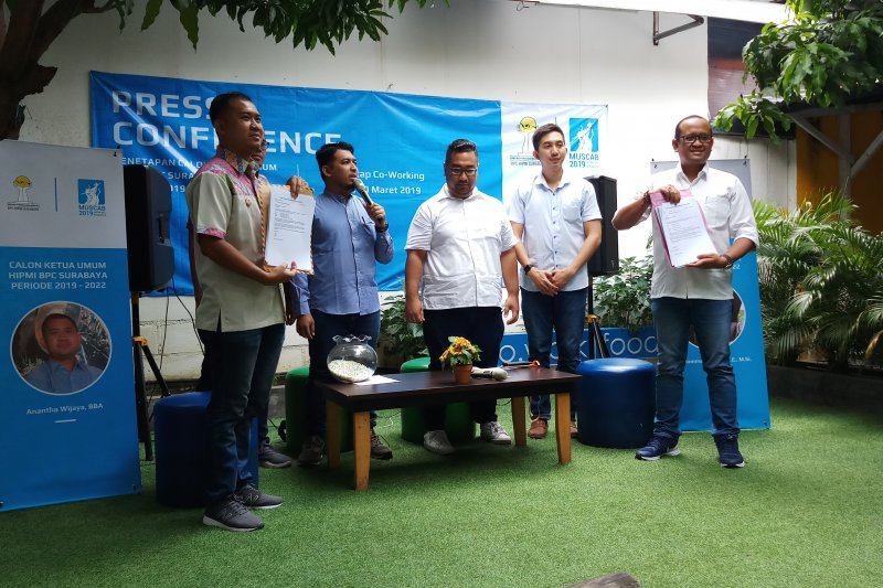 Kalangan mahasiswa di Surabaya disasar menjadi anggota baru HIPMI-PT