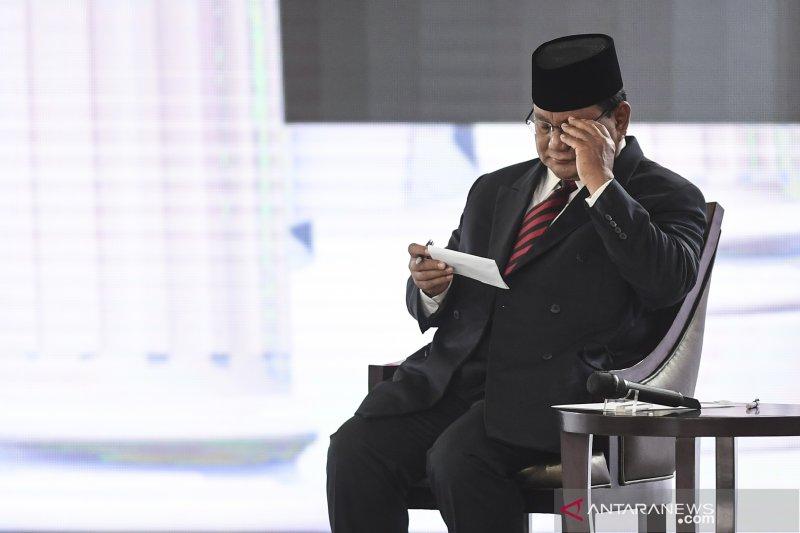 Prabowo: Pertahanan Keamanan Kita Terlalu Lemah