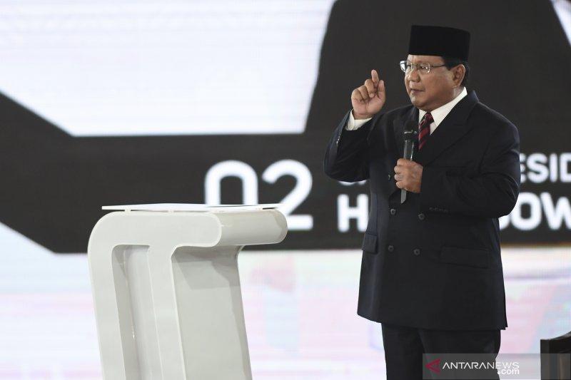 Puluhan ribu pendukung Prabowo-Sandi ikuti jalan sehat Ukhuwah 02