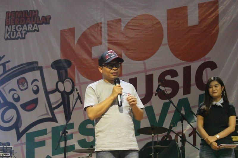 Sasar pemilih milenial, KPU Jabar gelar festival musik