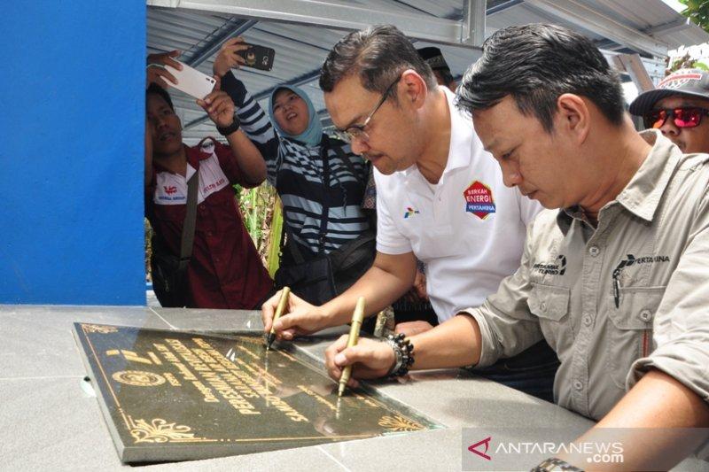 Serikat pekerja Pertamina berdayakan korban Bencana Sigi