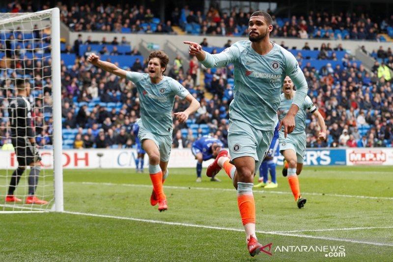 Chelsea tundukkan Cardiff 2-1
