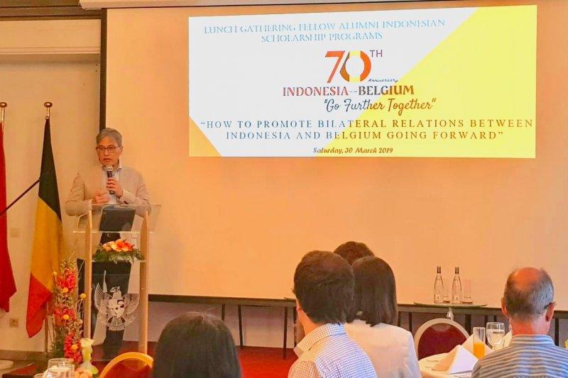 KBRI gelar pertemuan warga Belgia penerima beasiswa Dharmasiswa