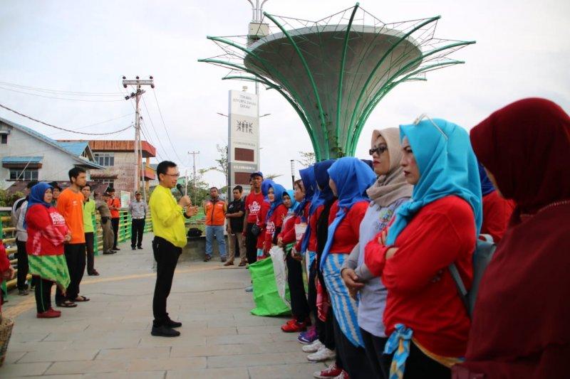 Pemkot Pontianak ajak masyarakat jaga kebersihan Sungai Kapuas