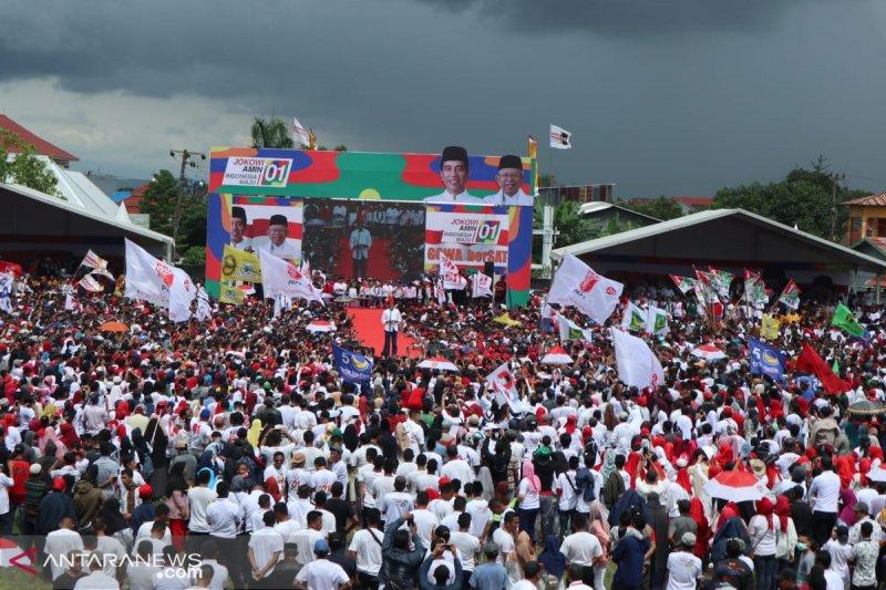 Jokowi targetkan menang minimal 71 persen di Sulsel