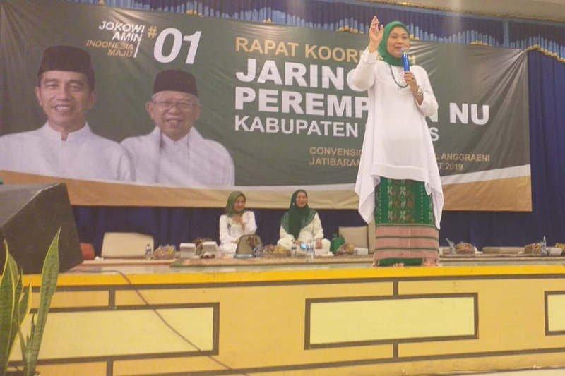 Ketum JPNU: Perempuan kunci kemenangan Jokowi-Ma'ruf