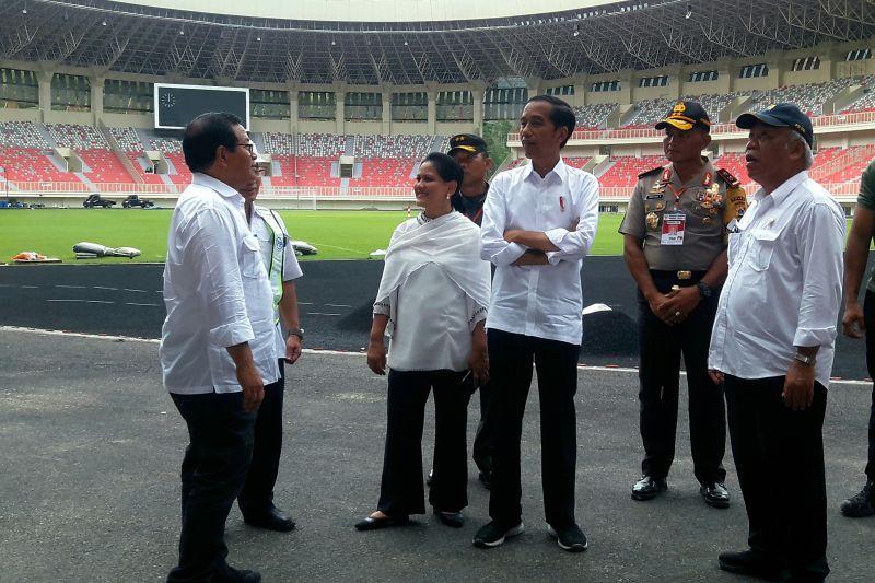 Presiden resmikan Istora Papua Bangkit