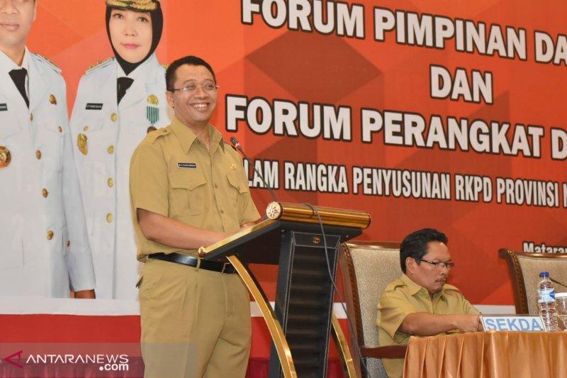 Wujudkan NTB Gemilang gubernur harapkan forum kepala daerah terbentuk