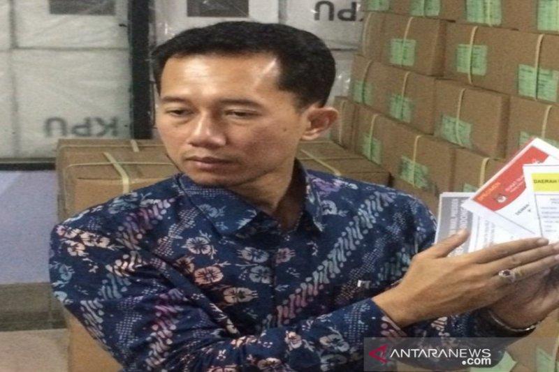 KPU Sleman pastikan surat suara pemilu mencukupi