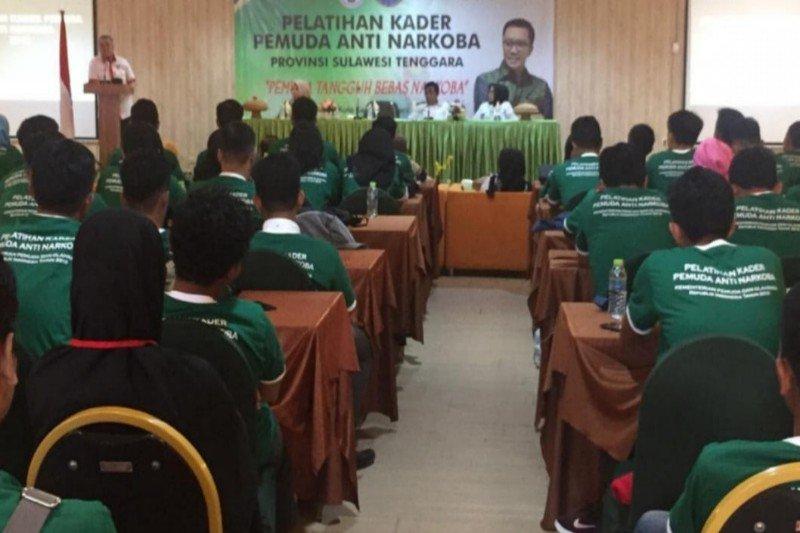 BNNP-Kemenpora beri pelatihan Pemuda Anti Narkoba
