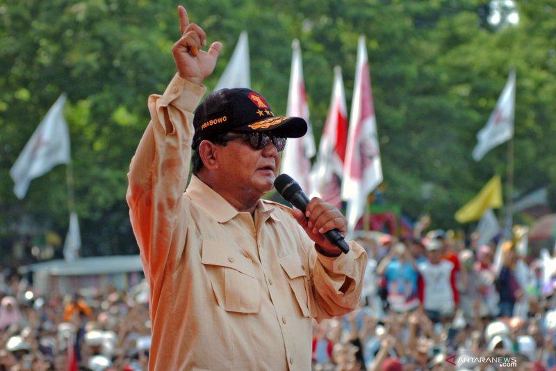 Prabowo sakit, batal hadiri kampanye di Pangkalpinang