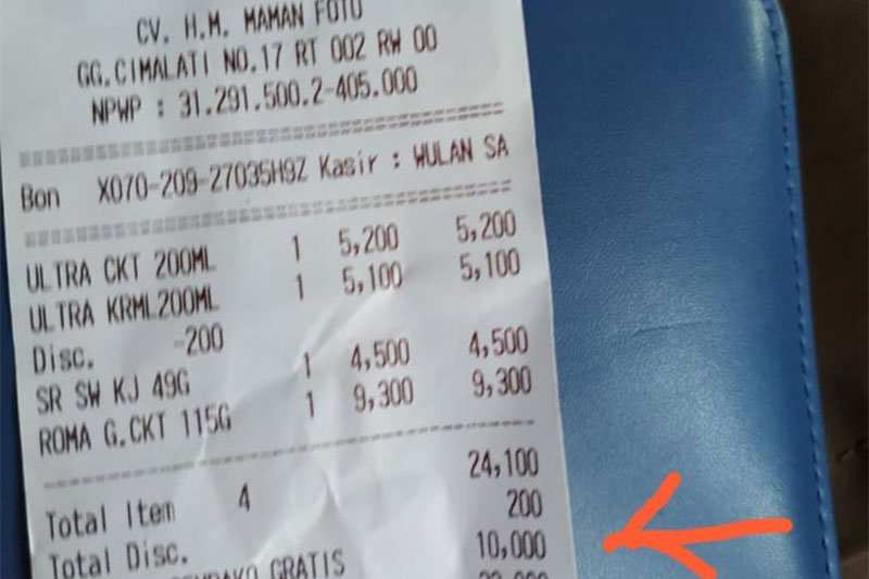 Alfamart bantah potong langsung donasi Rp10.000 di Cimalati