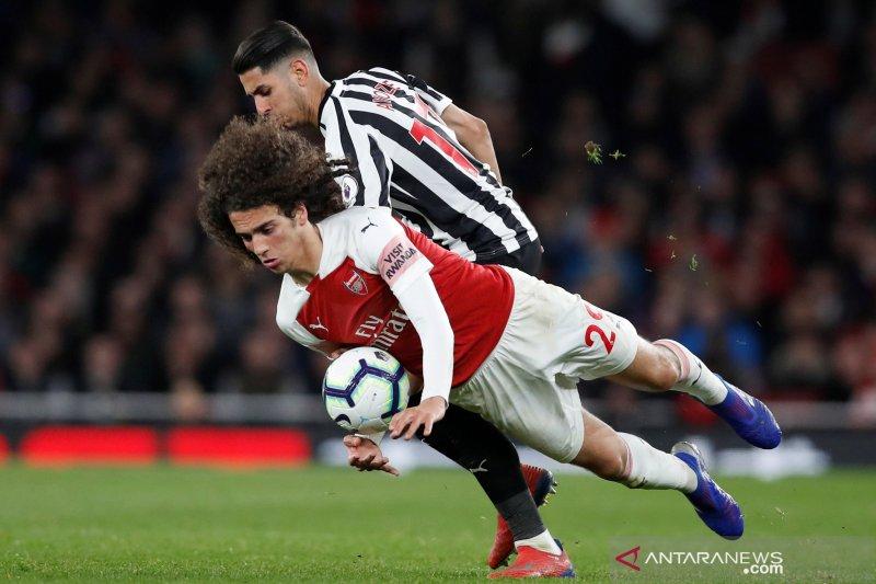 Arsenal bercokol di posisi ketiga, lompati MU dan Tontenham Hotspur