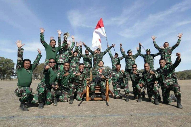TNI-AD pertahankan juara umum lomba tembak di Australia