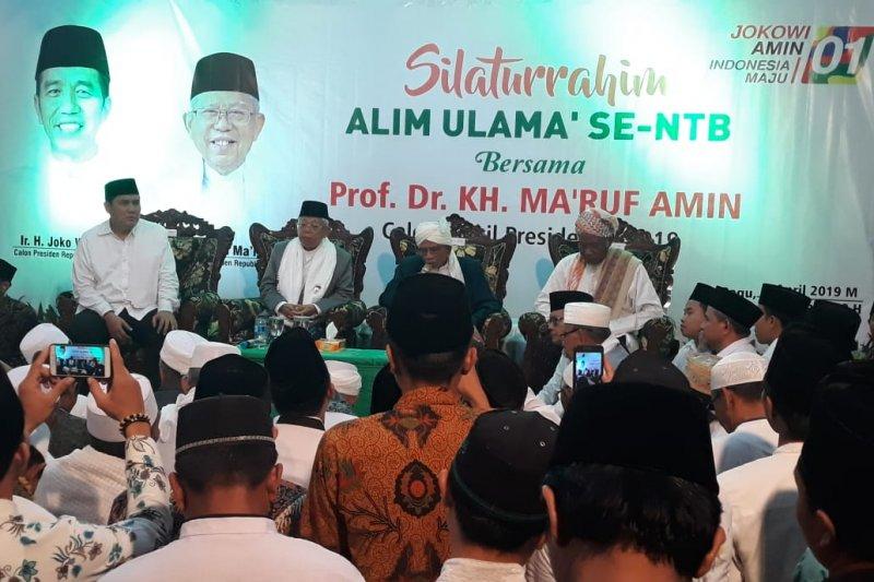 Tuan Guru Bagu serukan memenangkan Jokowi-Ma'ruf Amin