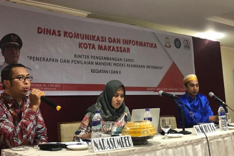 Dinas Kominfo Makassar libatkan Badan Siber dan Sandi Negara