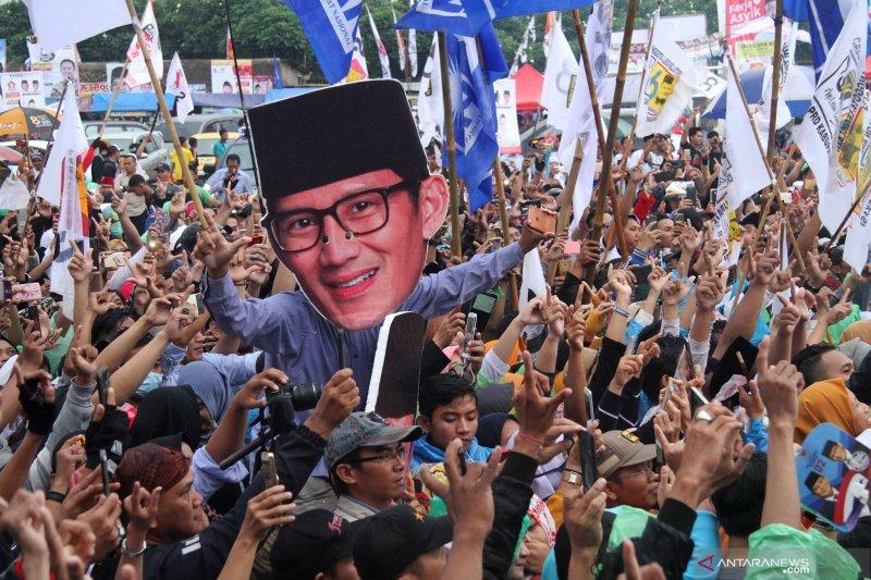 Kampanye cawapres 02 di Bekasi