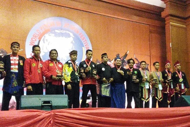 Dua pesilat Barito Timur raih Gold Medal di Open Festival 2019