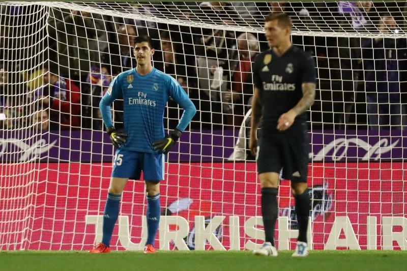 Kata Zidane, musim depan Real Madrid miliki penjaga gawang utama