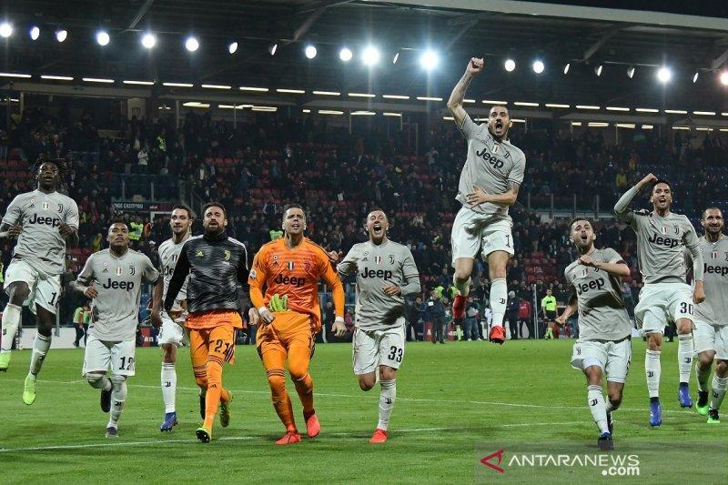 14 poin keunggulan Juventus di puncak klasemen Liga Italia