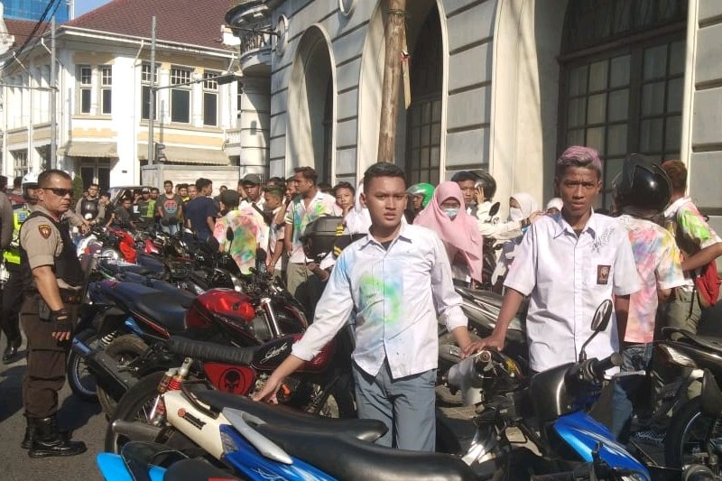 Kasat Lantas Medan imbau pelajar SMA tidak konvoi