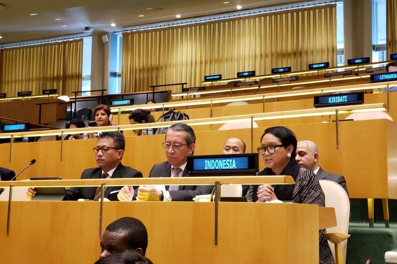Indonesia sponsori dan dukung konsensus global untuk perangi terorisme