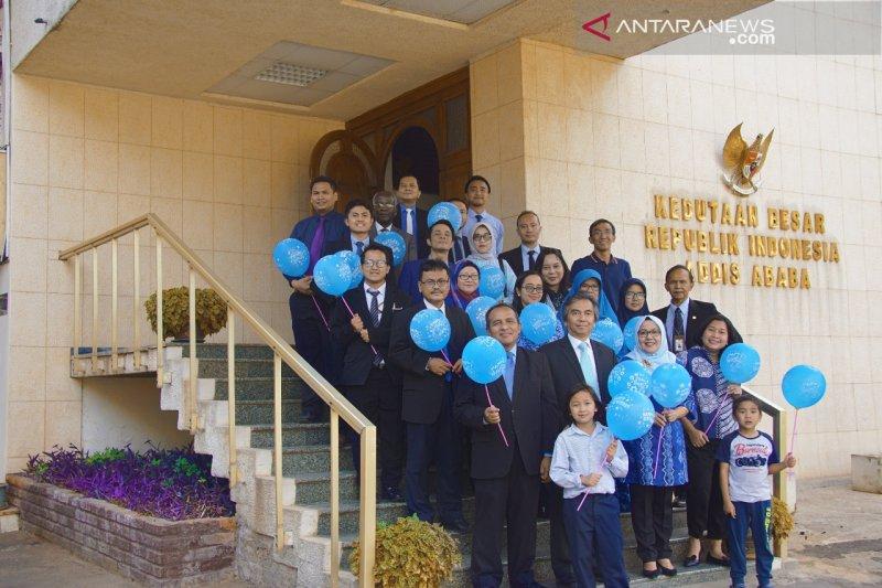 KBRI, MIKTA rayakan hari  autisme dunia di Addis Ababa