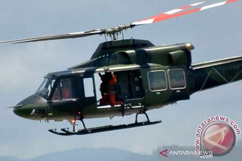 Kapolres: Turunkan tim pastikan ditemukannya helikopter TNI