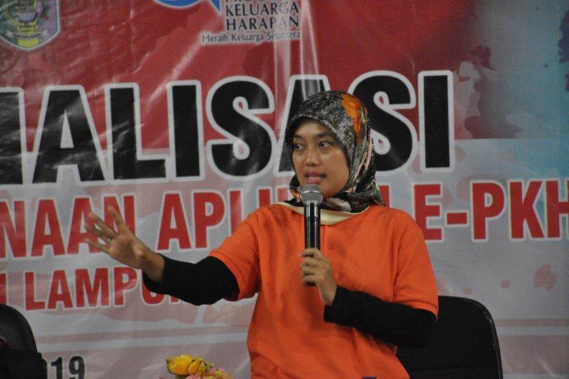 Pendamping PKH Lampung Timur mulai gunakan PKH-e