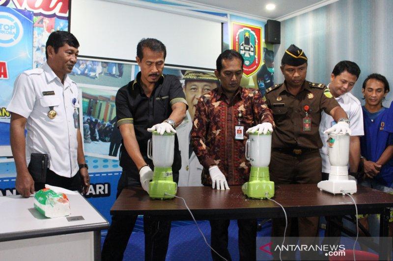 BNN Sumsel musnahkan barang bukti sabu jaringan Medan