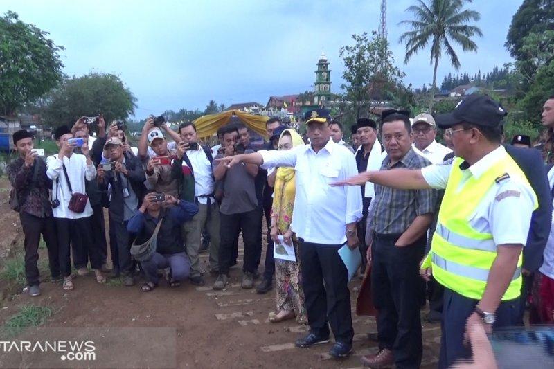 Jalur ganda Bogor - Sukabumi Ditargetkan selesai November