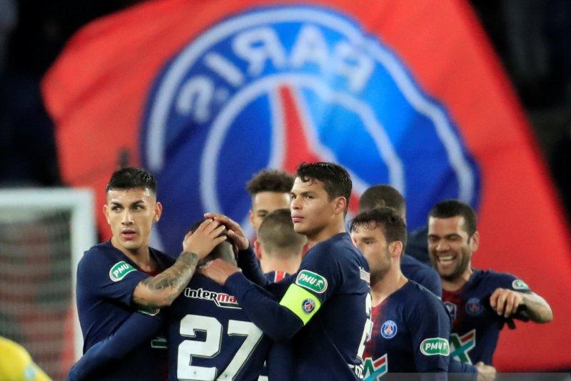 PSG batal pastikan gelar juara di hasil dan klasemen Liga Prancis