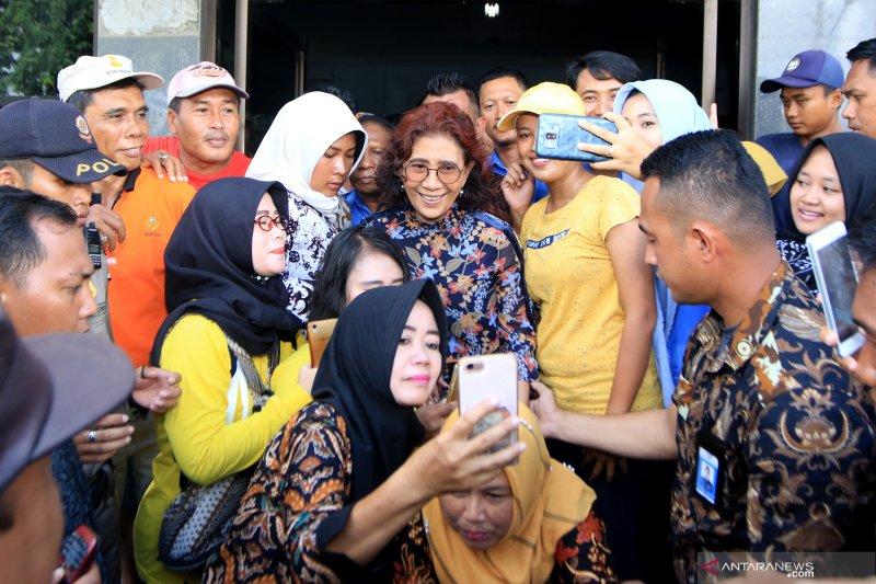 Menteri KKP bertemu nelayan di Muncar