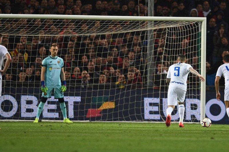 Mauro Icardi Kembali Inter Milan Pesta Gol
