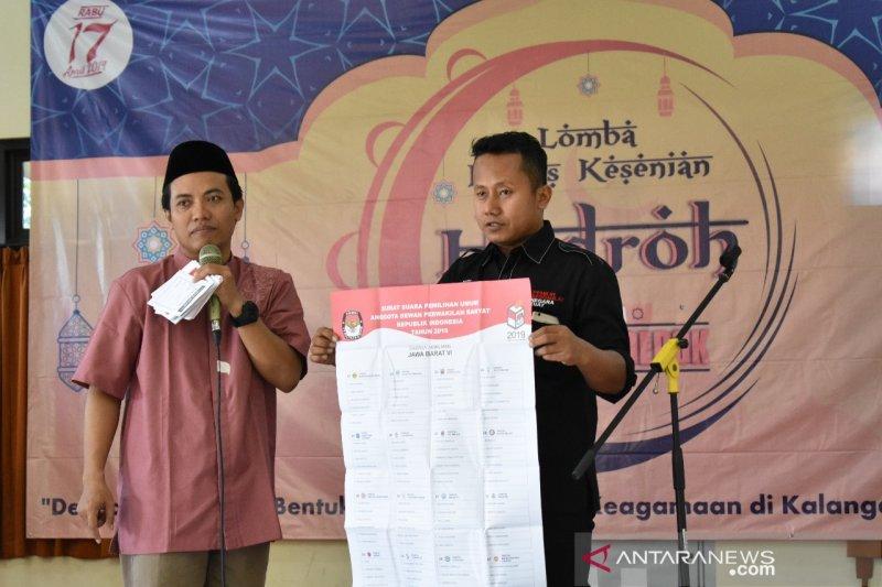 Pemilih tetap hasil perbaikan ketiga di Depok 1.309.869 pemilih