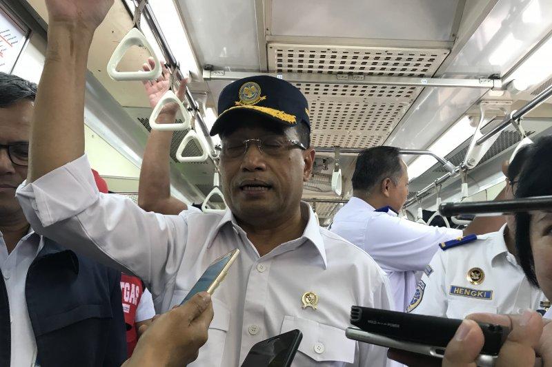 Menhub: LRT Palembang terus dibenahi