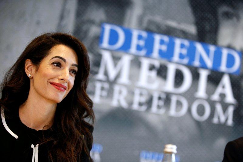 Amal Clooney ditunjuk sebagai duta kebebasan media