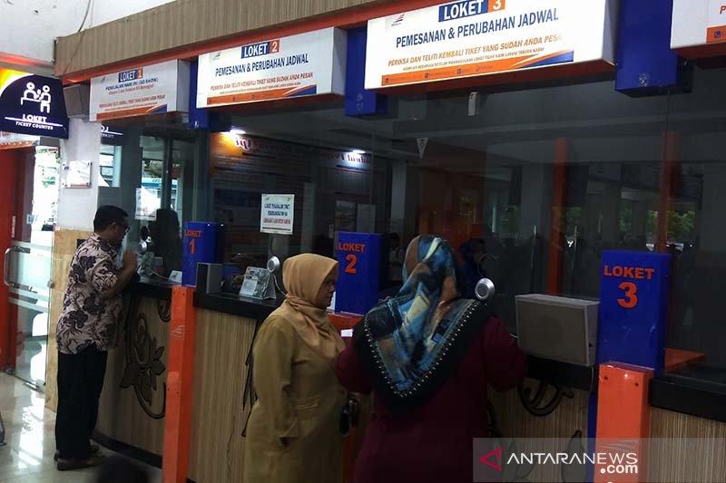 Tiket kereta mudik dari Purwokerto menuju Bandung/Jakarta masih banyak