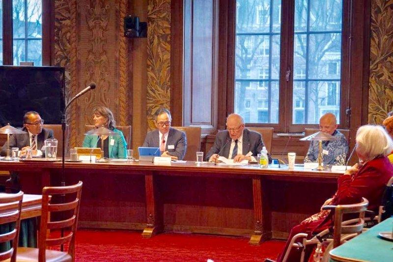 Dubes RI untuk AS bahas kelapa sawit di Senat Belanda