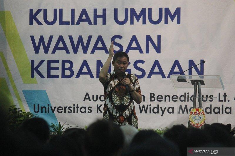 Menteri Jonan: mahasiswa harus miliki semangat mengabdi