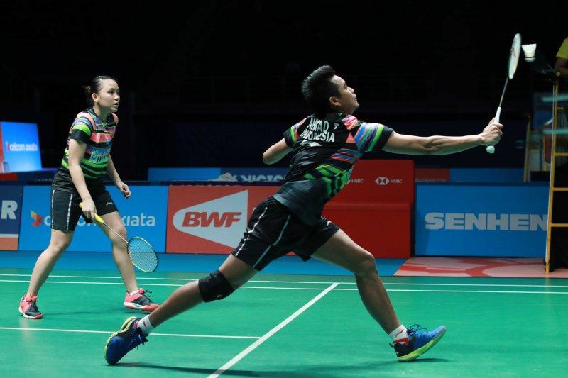 Tontowi/Winny kalah dari ganda campuran Malaysia